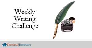 weekly writing challenge