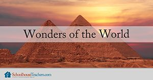 Wonders of the World Homeschool Geography