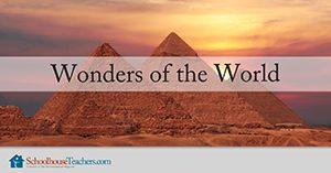 Wonders of the World Homeschool Geography
