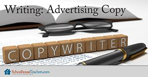 Homeschool Language Arts Writing Advertising Copy