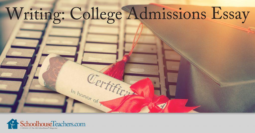 Writing college admission essay vocabulary