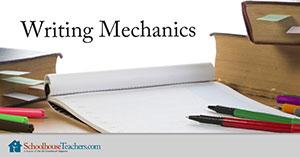 Homeschool Language Arts Writing Mechanics