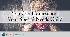 homeschool your special needs child